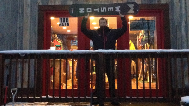 Barry Clark - Weston Snowboards